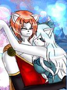 Masato x Aurelia cuddle