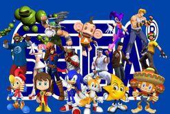 Sega et ses personnages.JPG
