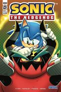 IDW Sonic 43 - Couverture A