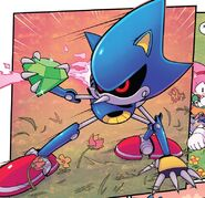 IDW-Publishing Metal-Sonic classic