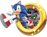 Sonic 30th Sonic and Ring