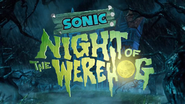 Sonic Night of the Werehog titre