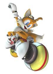 Tails Sonic Riders Zero Gravity Artwork.png