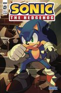 IDW Sonic 43 - Couverture B-1