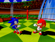 Knuckles VS Sonic - Fighters