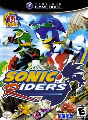 Sonic Riders NGC.JPG