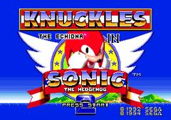 Ecran Titre Knuckles in Sonic 2.png