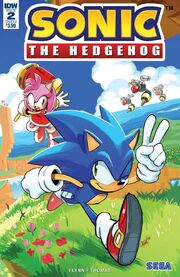 IDW Sonic 2 Couverture A.jpg