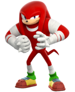 Rendu 3D Sonic Boom Knuckles