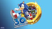 Sonic 30th wp logo Sonic Ring