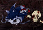 Sonic the Werehog is handcuff in the Land of Death