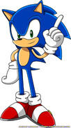 Sonic the hedgehog by advert man-d5imcw0