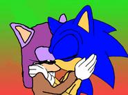 Sonic and Nikki K.I.S.S.I.N.G