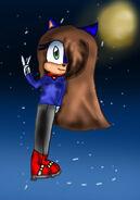 Luna the Hedgehog by pianoteen101
