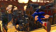 Sonic Forces Gameplay Screenshot