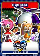 Sonic Tweet Team Rose