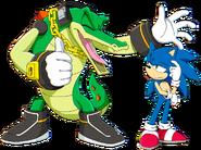 Sonic Channel Sonic+Vector 2021