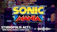 Sonic Mania OST - Studiopolis Act 1