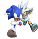 182px-Sonic with silver