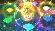 Super Sonic Sonic Colors
