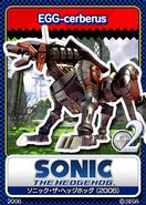 Sonic 06 - 09 Egg Cerberus
