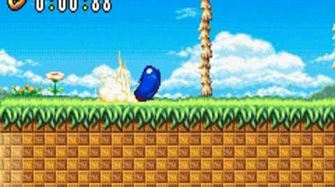 Sonic Advance (GBA) Neo Green Hill Zone