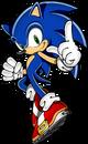 Rush Sonic pose
