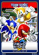 Sonic Heroes 15 Team Sonic
