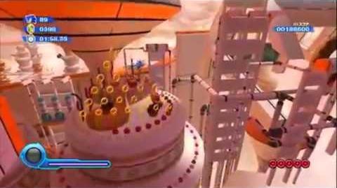Wii - Sonic Colors - orange rocket wisp gameplay