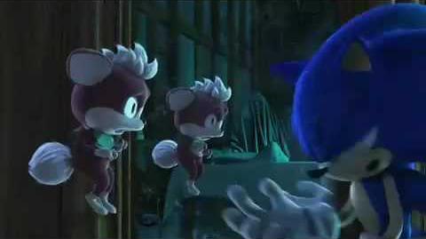 Sonic Night of the Werehog - Sonic short film from SEGA