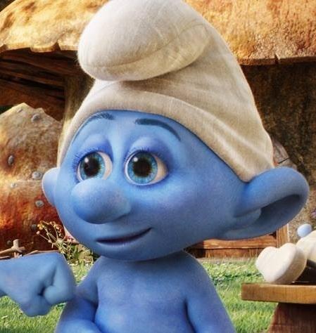 Clueless Smurf