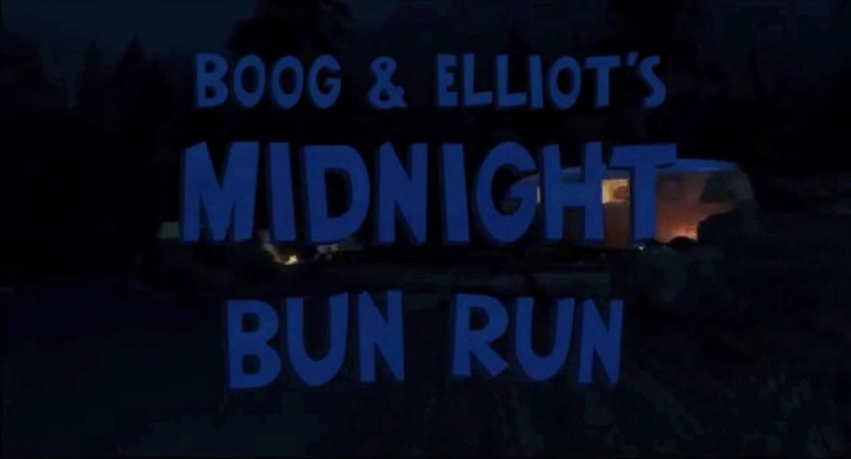 Boog and Elliot's Midnight Bun Run