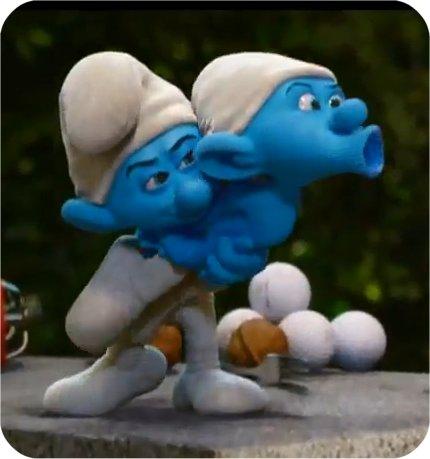 Crazy Smurf