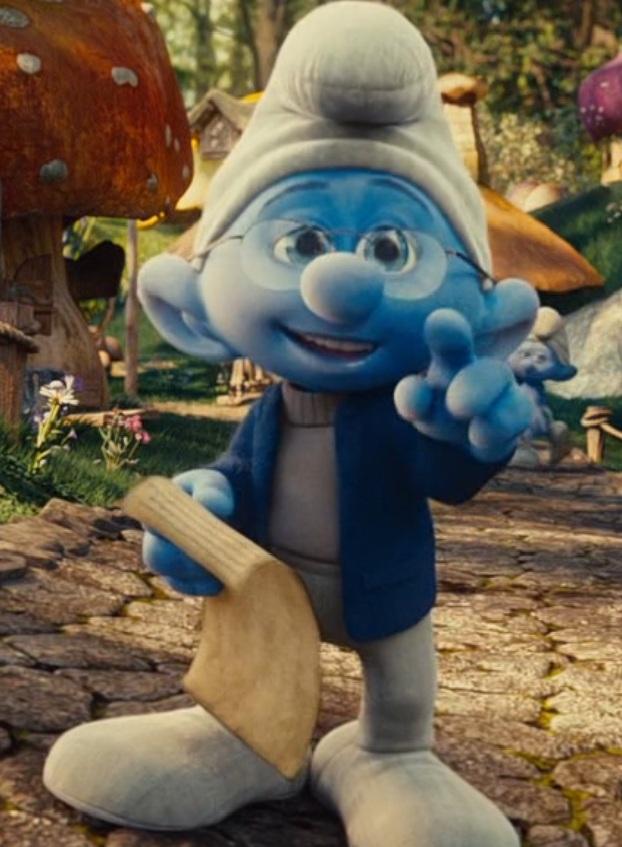 Narrator Smurf