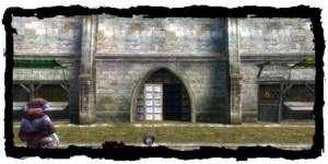 Porte du Meunier, vue de l'intèrieur de ka ville