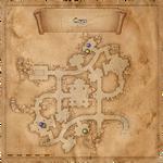 Cercles dans la crypte des cultistes