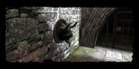 Gargouille à l'entrée des égouts au Quartier du Temple