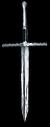 Épée en acier