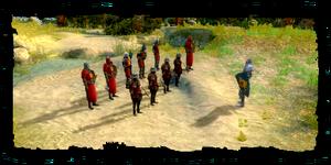 soldats de l'Ordre, prèts