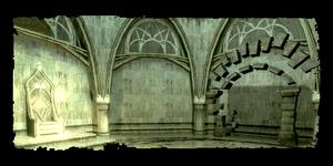 Ruines elfiques dans les égouts