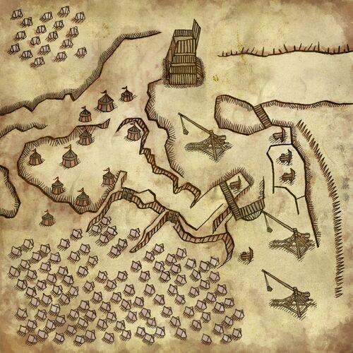 Carte du camp