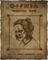 Geralt's wanted poster