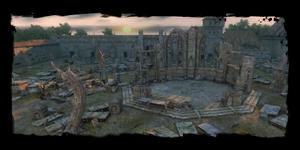 autre vue des ruines