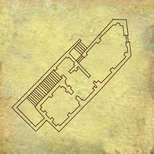Plan de la maison de Philippa Eilhart