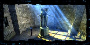 statue du la déesse Melitele