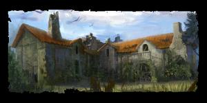 Moulin délabré