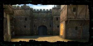 Portes menant du Quartier des marchands au Quartier du Temple