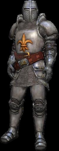 Un officier de la garde