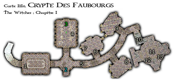 Map M6 - Crypte des Faubourgs