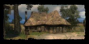 Cabane de la guérisseuse